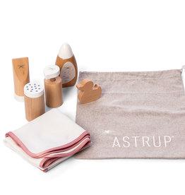 By Astrup   by Astrup poppen verzorgingsset van hout