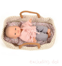 By Astrup / Mini Mommy  Knitted travel cot for Gordi dolls Minikane / byAstrup
