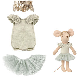 Maileg Maileg clothing set ballerina mouse Swan Lake