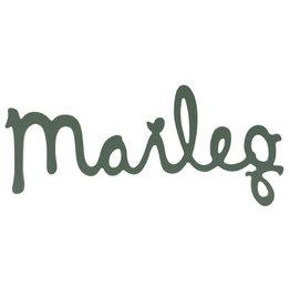 Maileg Maileg houten logo Dusty green