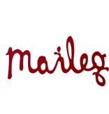 Maileg Maileg wooden logo Maileg wooden logo red 29.5 cm
