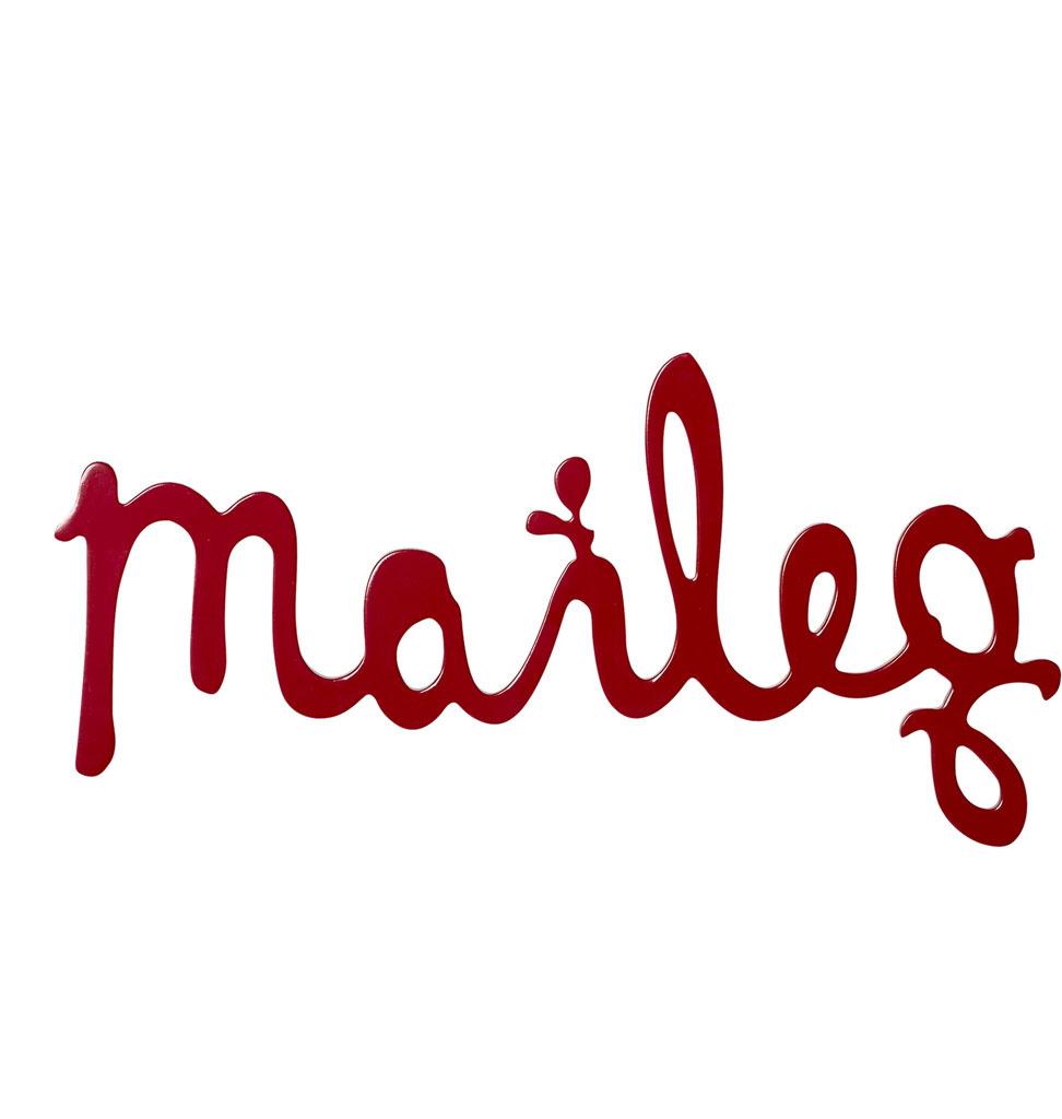 Maileg Maileg Holzlogo Maileg Holzlogo rot 29,5 cm