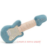 Jellycat knuffels Jellycat Wiggedy guitar with music 33 cm