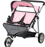 By Astrup / Mini Mommy  inimommy / by Astrup twin doll stroller pink