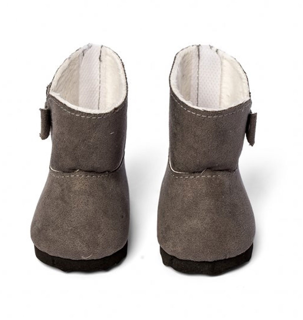 By Astrup   ByAstrup gray winter boots for Gordi baby dolls and other dolls from 30-35 cm