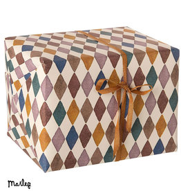 Maileg Maileg wrapping paper Harlequin