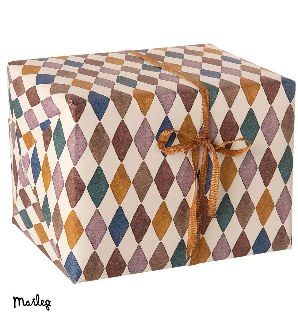 Maileg Maileg Geschenkpapier Harlekin