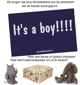 Glückwunschkarte It's a boy