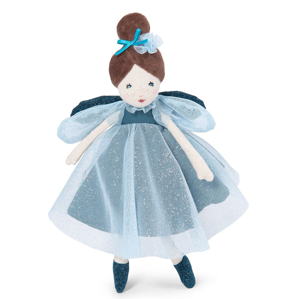Moulin Roty Moulin Roty doll fairy blue 30 cm