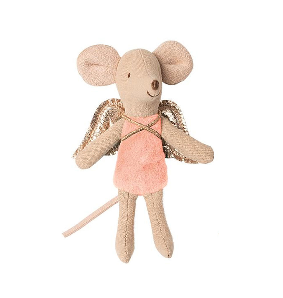 Maileg Maileg fairy mouse pink 10 cm