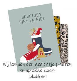 Kaart Sinterklaas