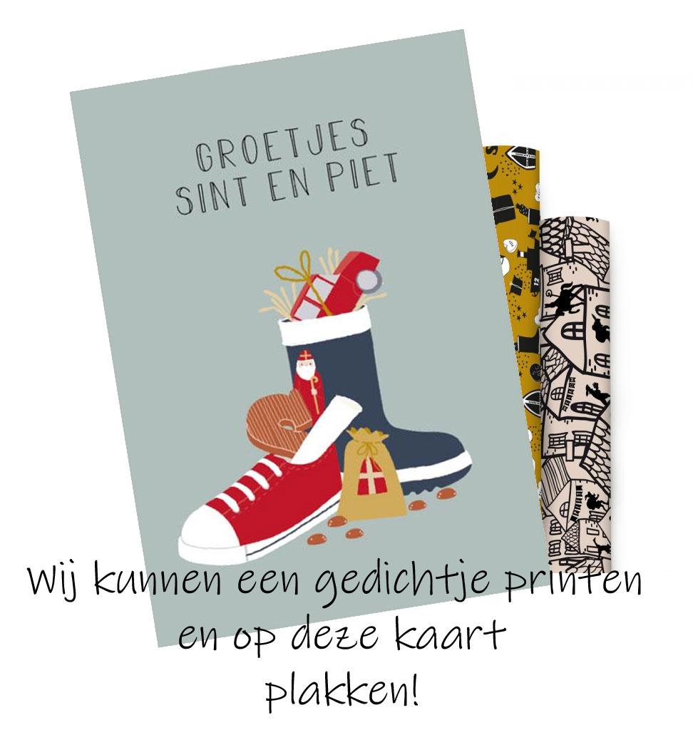 Sinterklaas Karte