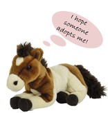 Nicotoy knuffels  Cuddly horse Pinto Nicotoy 28 cm