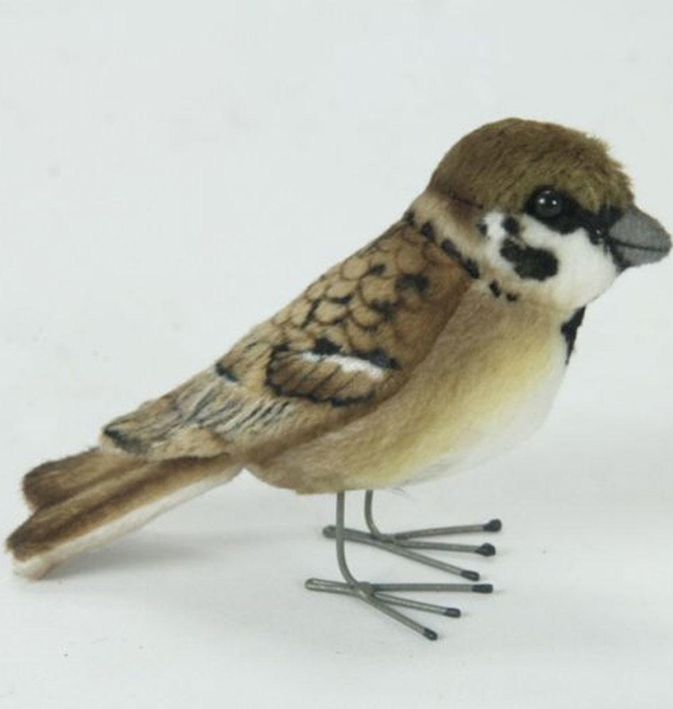 Hansa knuffels Hansa tree sparrow 9 × 4 × 7 cm