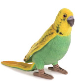 Hansa knuffels Hansa grasparkiet groen 7 × 5 × 15 cm