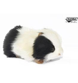 Hansa Meerschweinchen schwarz / weiß