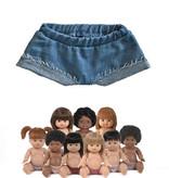 Minikane  Minikane short Emma jeans for Gordi dolls from Paola Reina