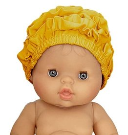 Minikane  Minikane bathing cap for Gordi dolls / color moutarde