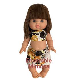 Minikane  Zweiteiliges Minikane-Mimosenensemble für Gordi-Puppen