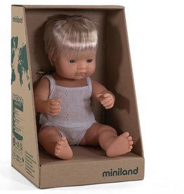 Miniland poppen Minland Puppenjunge Europäer