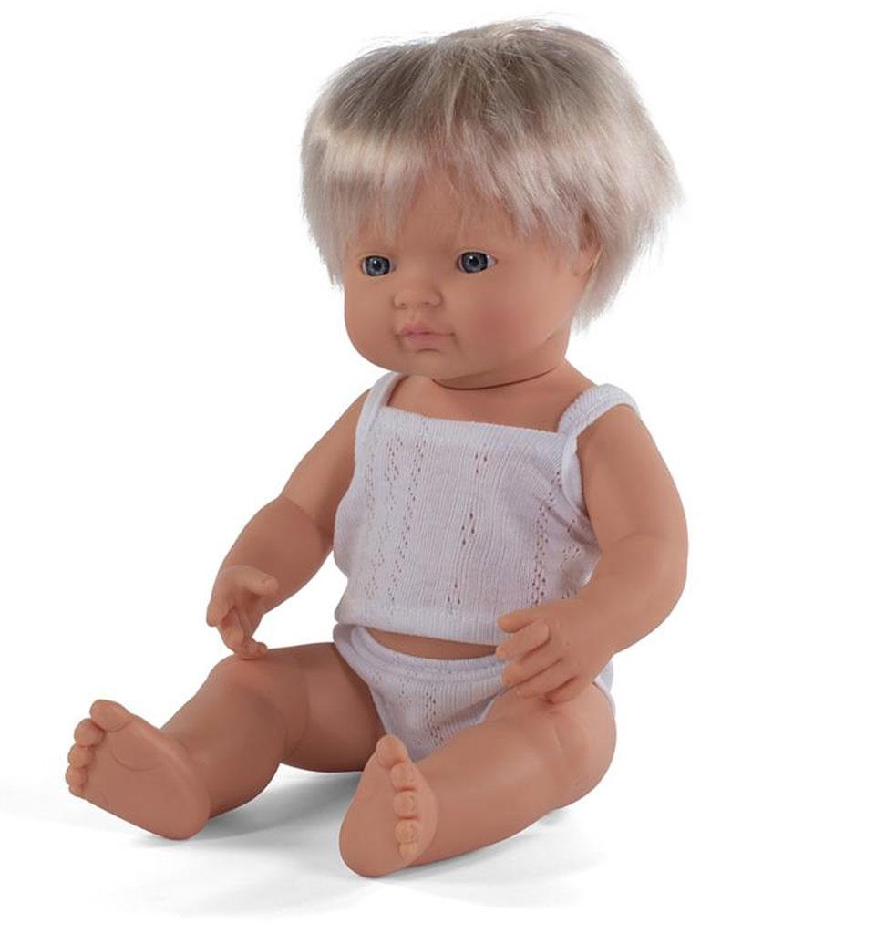 Miniland poppen Minland pop jongen Europees 38 cm