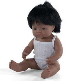 Miniland poppen Miniland Puppenjunge Hispanic