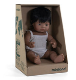 Miniland poppen Miniland Puppenjunge Hispanic 38 cm