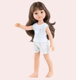 Paola Reina poppen Paola Reina Amigas Puppe Carola mit Pyjama 32 cm