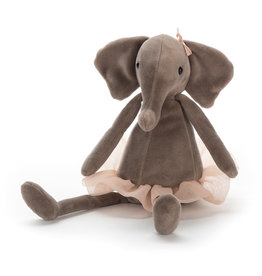 Jellycat knuffels Dancing Darcey olifant klein
