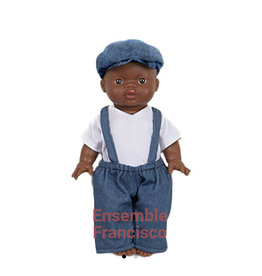 Minikane  Minikane ensemble Francisco Denim voor Gordi poppen