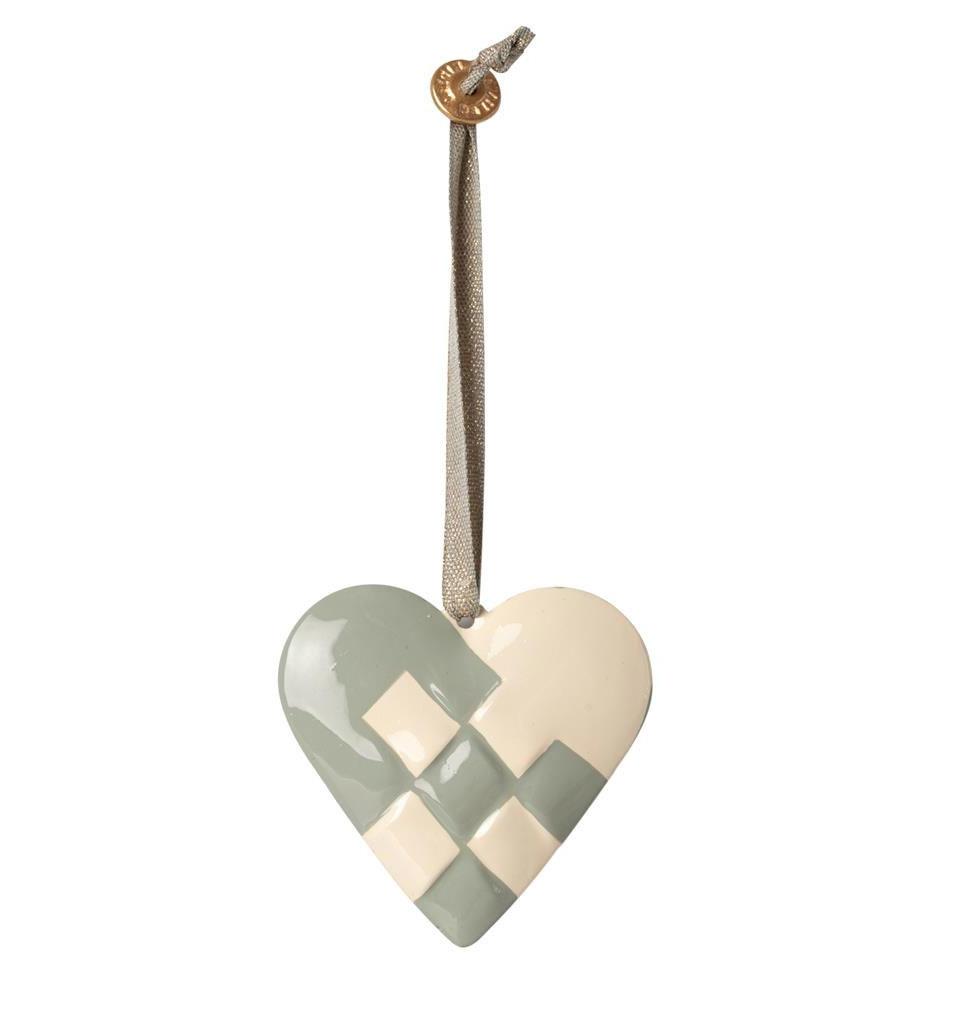 Maileg Maileg pendant heart of metal 6 cm