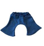 Minikane  Minikane flared jeans broek met stippen voor Gordi poppen van Paola Reina