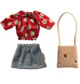 Maileg Maileg Kleidung Set mit Tasche für Mutter Maus