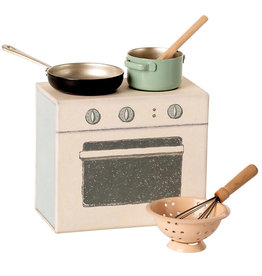 Maileg Maileg cooking set for the mouse house
