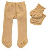 Heless Strumpfhosen und Socken Goldglitter von Heless für Puppen von 28-35 cm