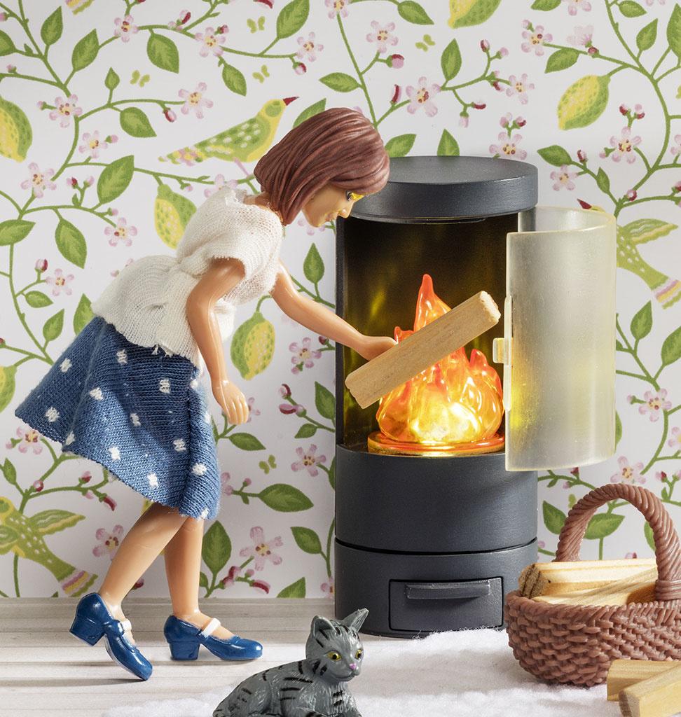 Lundby Lundby fireplace for dollhouse