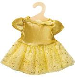 Heless Heless prinsessenjurk goud (geschikt voor Gordi poppen van Paola Reina