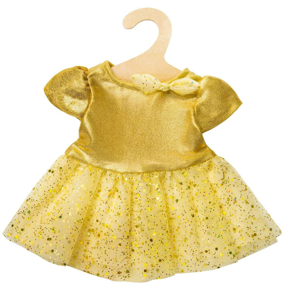 Heless Heless princess dress gold (suitable for Gordi dolls from Paola Reina