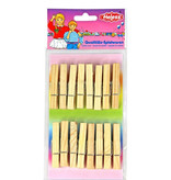Heless Heless 16 wooden clothespins for doll clothes