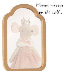 Maileg Maileg miniature mirror made of wood