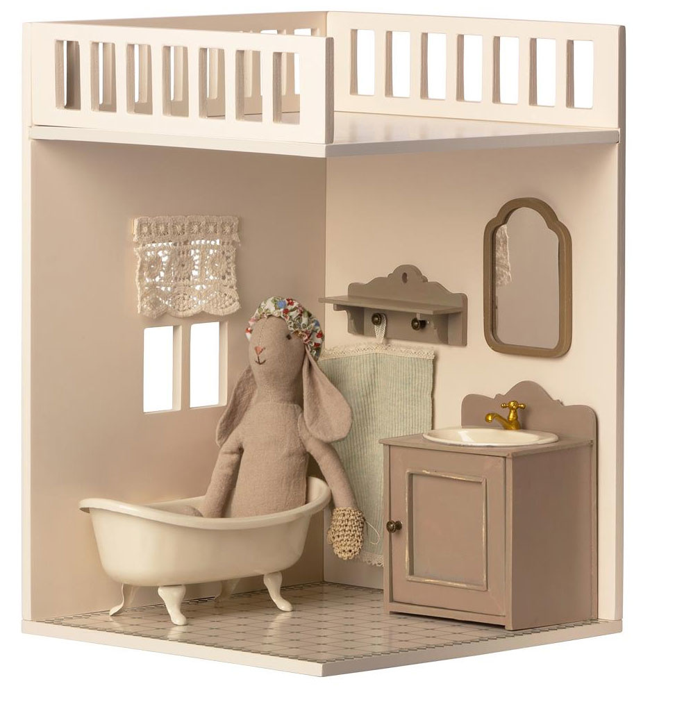 Maileg Maileg wooden miniature mirror for the dollhouse and mouse house
