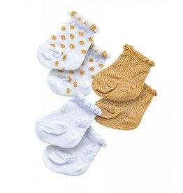 Heless drei Paar Socken für Puppen