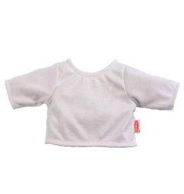Heless Heless wit basic t-shirt voor Gordi poppen