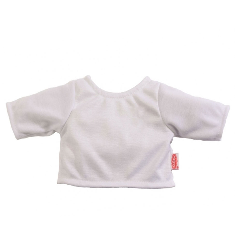 Heless Heless wit bascs t-shirt voor Gordi poppen
