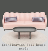 Lundby Lundby basic living room set / Scandinavian style