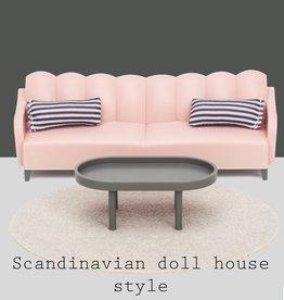 Lundby Lundby basic woonkamer set