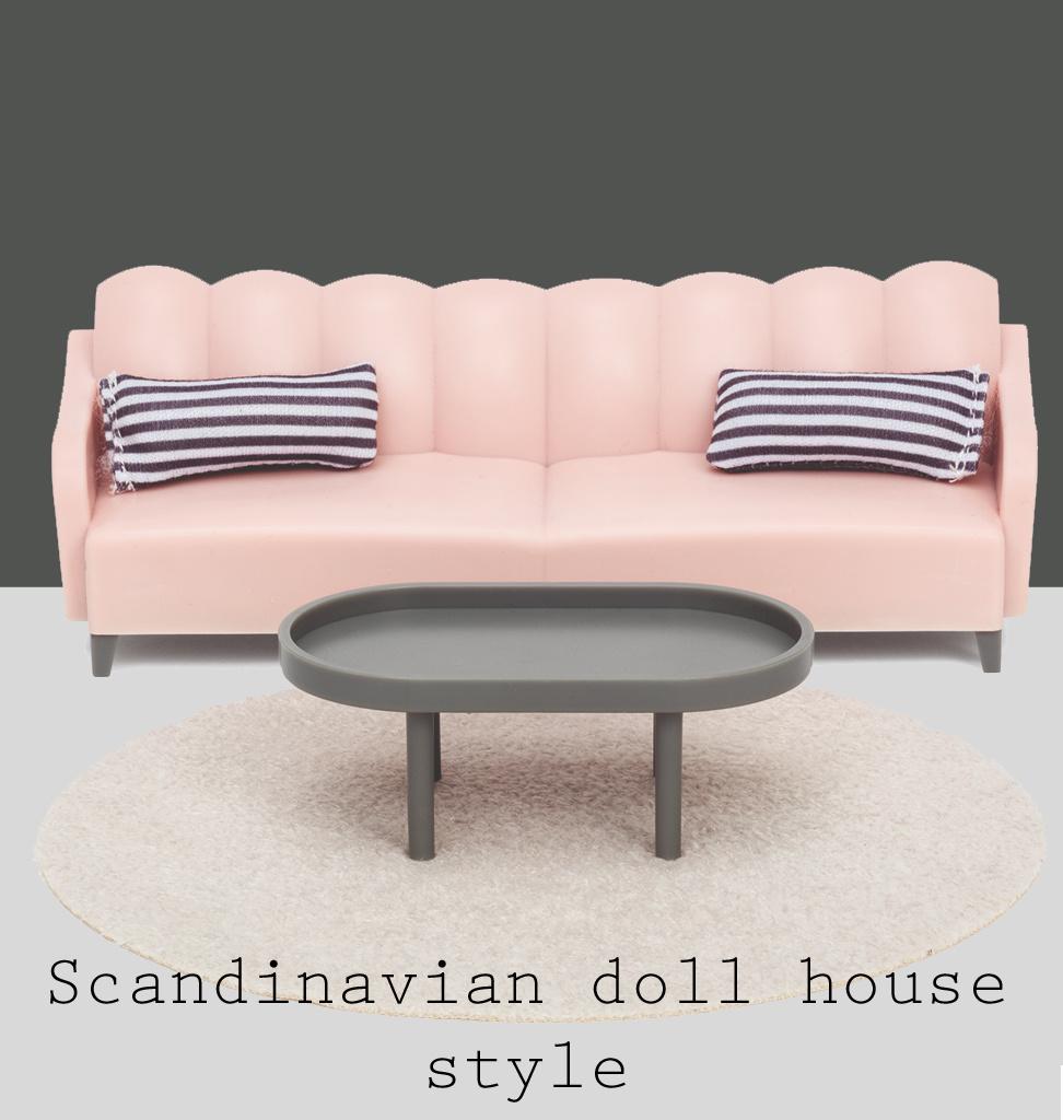 Lundby Lundby basic woonkamer set  / Scandinavian style