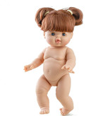 Paola Reina poppen Paola Reina Gordi doll Rosa with pigtails 34 cm