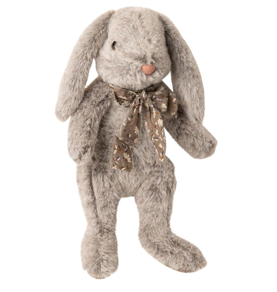 Maileg Maileg Fluffy Bunny large gray 30 cm