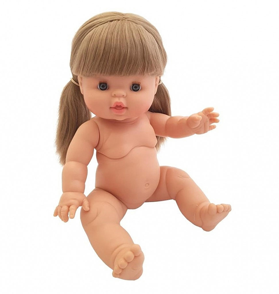 Paola Reina poppen Paola Reina Gordi doll Lucy long blond hair with ponytail